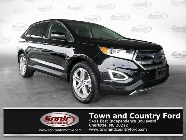 Used 2018 Ford Edge Titanium  AWD SUV for sale in Charlotte, NC