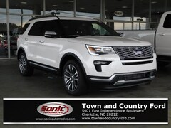New 2018 Ford Explorer Platinum SUV for sale in Charlotte, NC