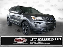 New 2019 Ford Explorer XLT SUV for sale in Charlotte, NC