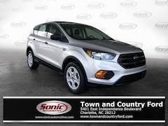 New 2019 Ford Escape S SUV for sale in Charlotte, NC