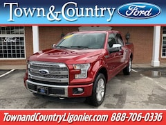 2016 Ford F-150 Platinum 4x4 Platinum  SuperCrew 5.5 ft. SB