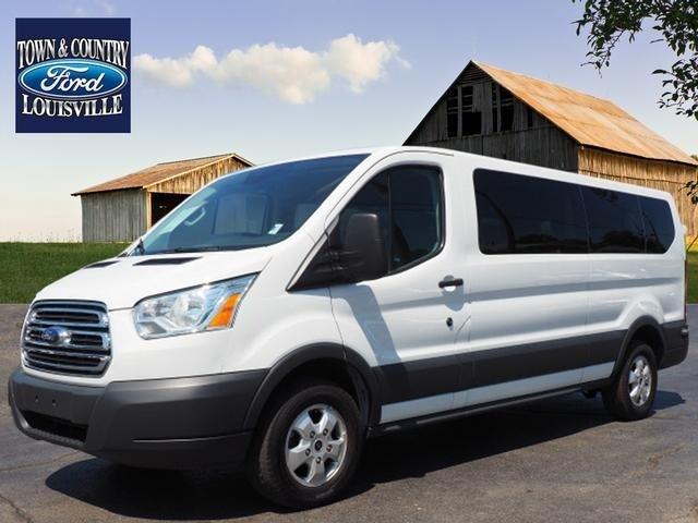 2017 Ford Transit Wagon T-350 148 Low Roof Sliding RH Dr Van