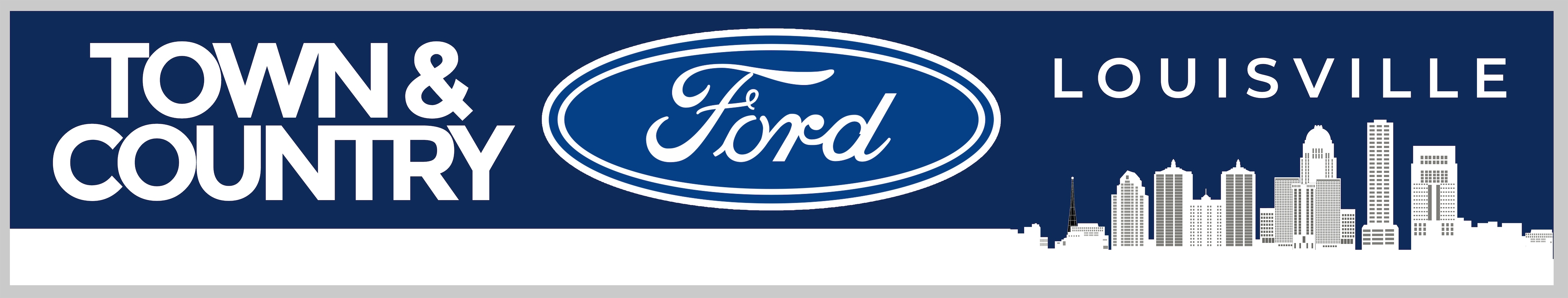 The Town and Country Ford Logo.