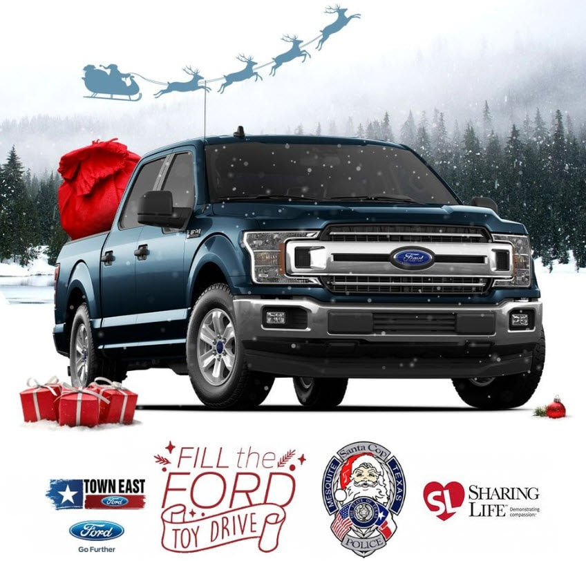 Fill the Ford Toy & Food Drive