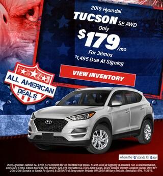 July 2019 Hyundai Tucson Lease