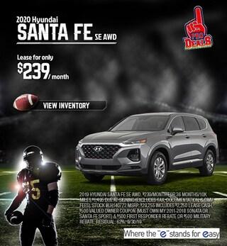 2020 Hyundai Santa Fe Lease