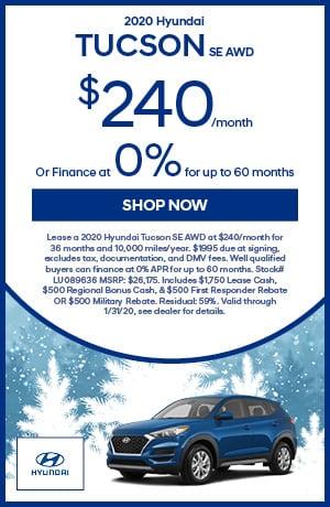 2020 Tucson SE AWD multi-offer