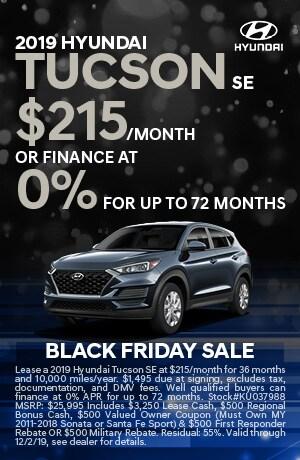 2019 Hyundai Tucson SE Lease or Finance