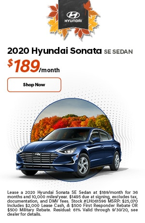 2020 Sonata Lease