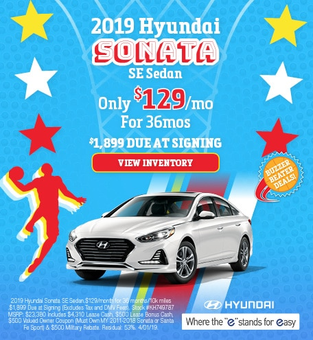 March 2019 Hyundai Sonata