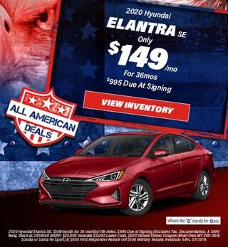 July 2020 Hyundai Elantra Lease