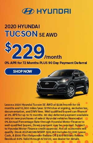 2020 Tucson Lease