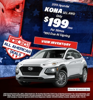 July 2019 Hyundai Kona Lease