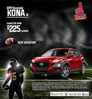 2019 Hyundai Kona Lease - September