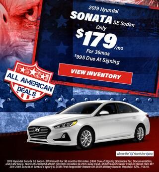 July 2019 Hyundai Sonata Lease