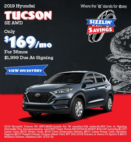 May 2019 Tucson Lease