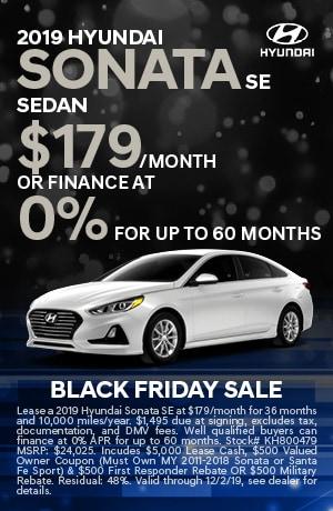 2019 Hyundai Sonata SE Lease
