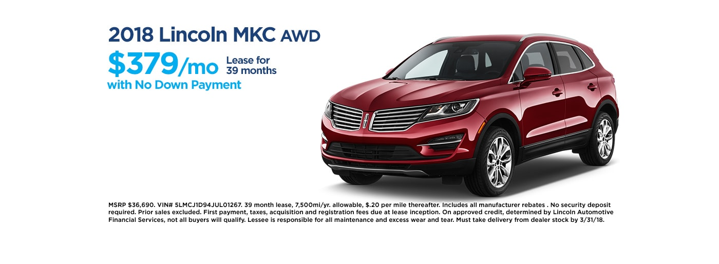 New Vehicle Specials Towne Lincoln