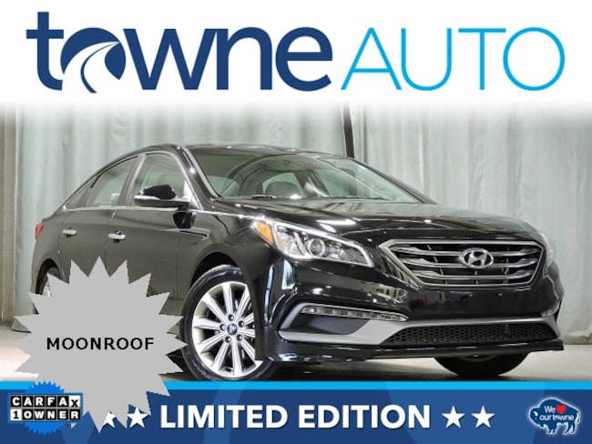 Used 2017 Hyundai Sonata Limited w/PZEV Sedan For Sale Orchard Park NY