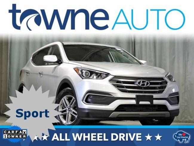 Used 2018 Hyundai Santa Fe Sport 2.4L SUV For Sale Orchard Park NY