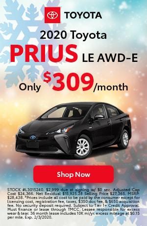 2020 Prius lease