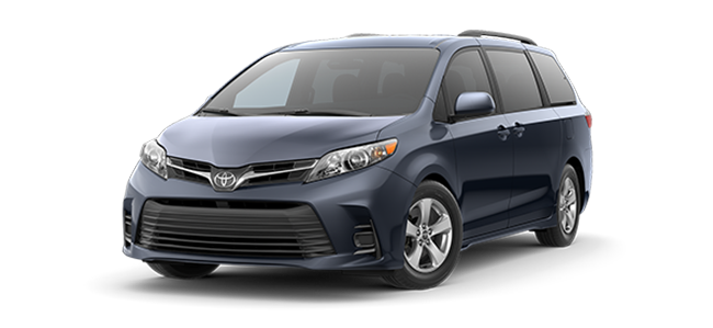 New 2018 Toyota Sienna LE at