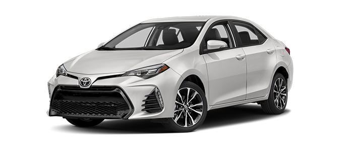 New 2018 Toyota Corolla LE at