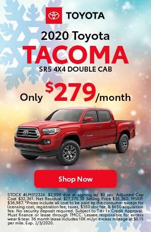 2020 Tacoma lease