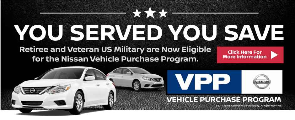 Military Discount Program- Tuscaloosa, AL- Townsend Nissan