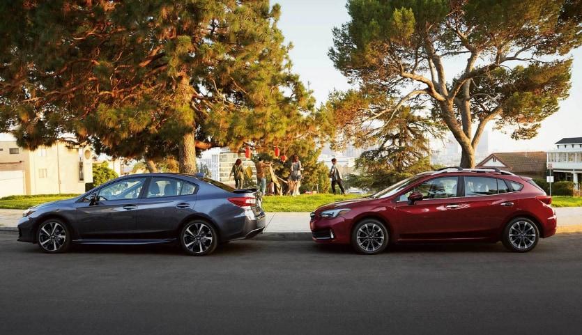 2021 Subaru Impreza Sedan and 5-Door