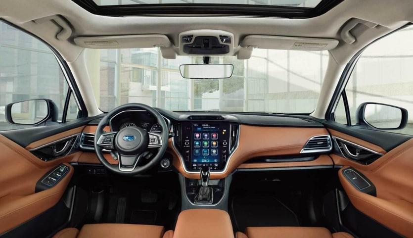 The 2020 Subaru Legacy Technology & Interior