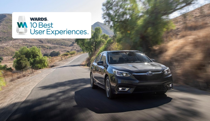 The 2020 Subaru Legacy Named to Wards 10 Best User Experiences List