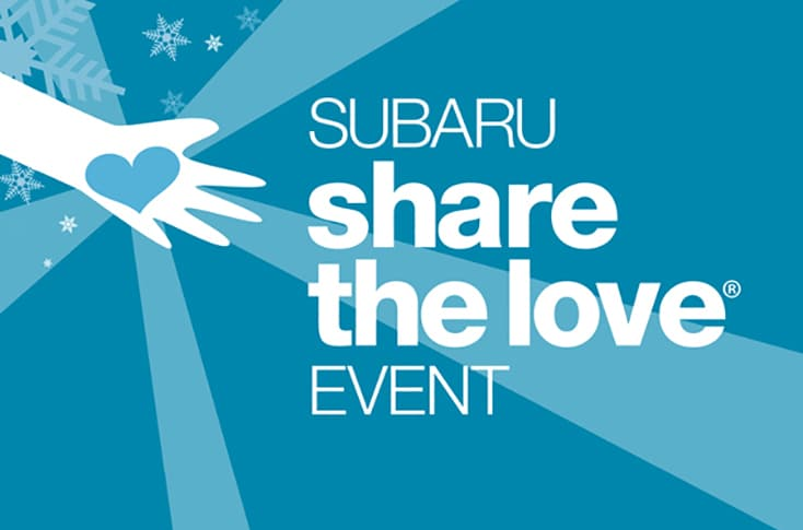 2018 Subaru Share the Love Sales Event