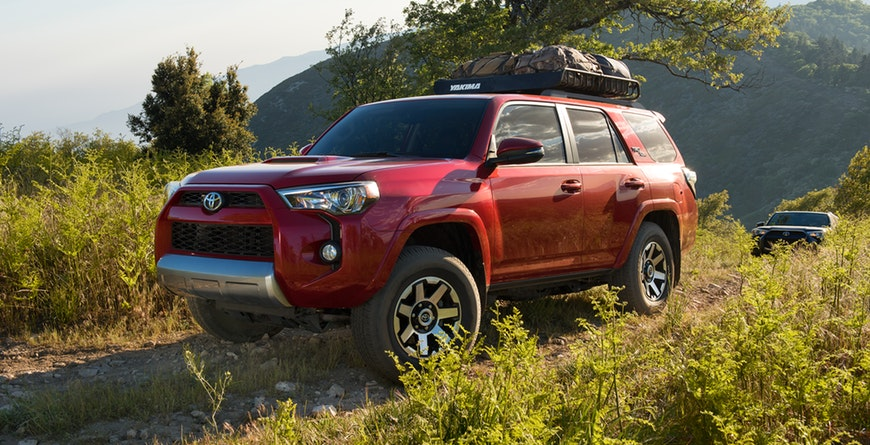 2019 Toyota 4Runner Design