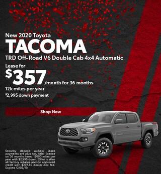 2020 - Nov Tacoma