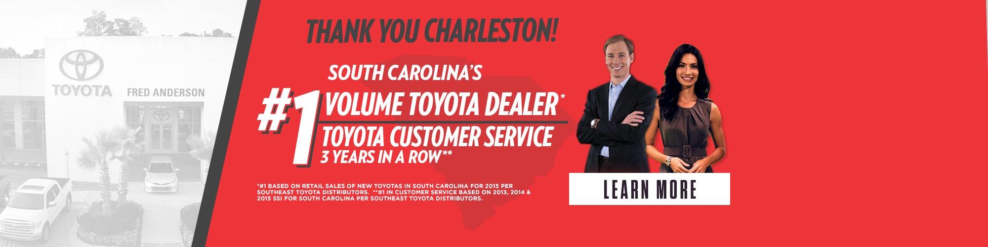 Toyota Dealership Charleston SC | Near Mount Pleasant U0026 Summerville