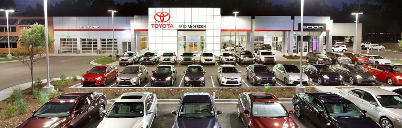 Toyota Columbia Sc >> Family Friendly Toyota Dealership In Columbia Sc Fred Anderson
