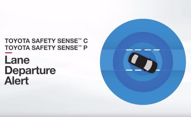 Toyota Lane Departure Alert
