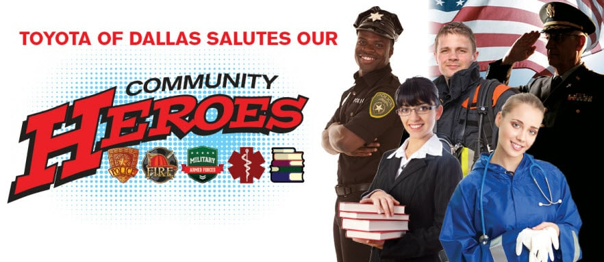 Toyota of Dallas Community Heroes