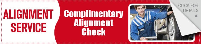Free Alignment Check Coupon, Dallas