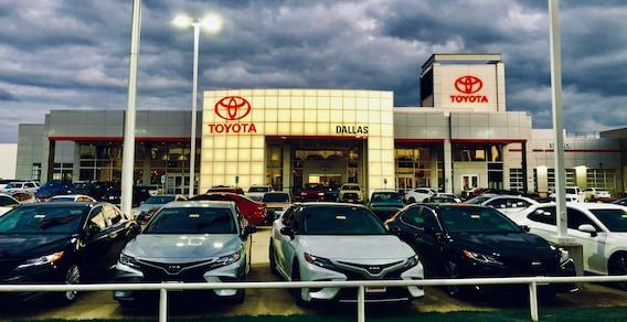 Toyota Dealerships Dfw >> Toyota Of Dallas Texas Toyota Dealership Berkshire