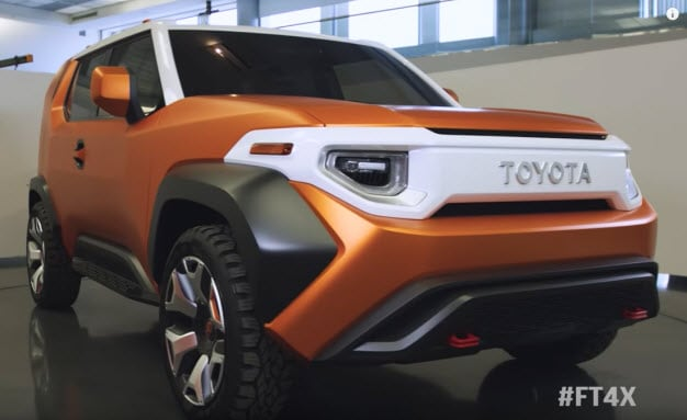 Toyota FT-4X Concept Car