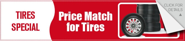 Tire Price Match Coupon, Dallas