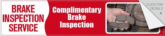 Brake Inspection Coupon, Dallas