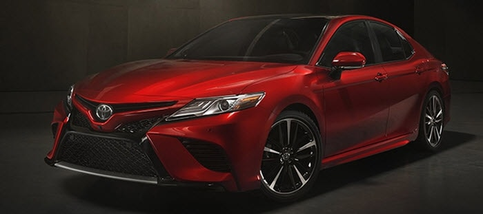 2018 Camry new exterior design