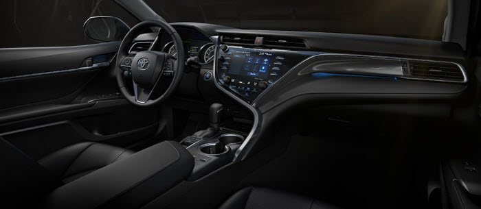 2018 Camry interior changes