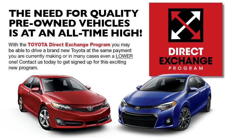Toyota Vehicle Exchange Program