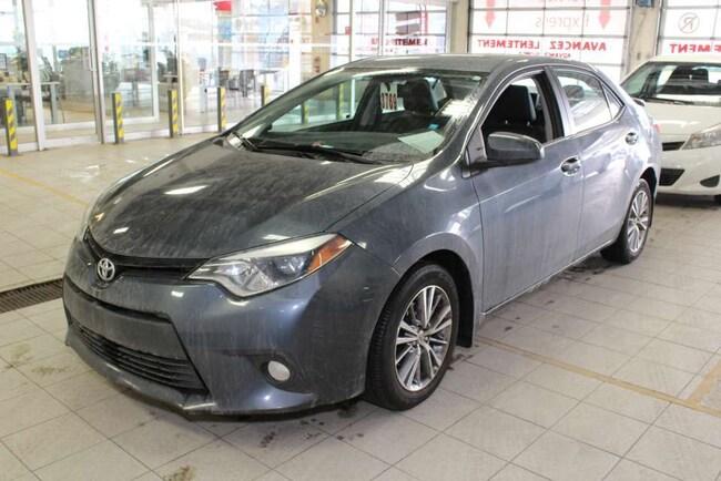 2014 Toyota Corolla LE UPGRADE+ GPS+ +MAGS+TOIT+CAM+SIÈGES CHAU Sedan