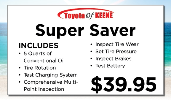 Toyota Service and Repair Specials | Toyota of Keene, NH