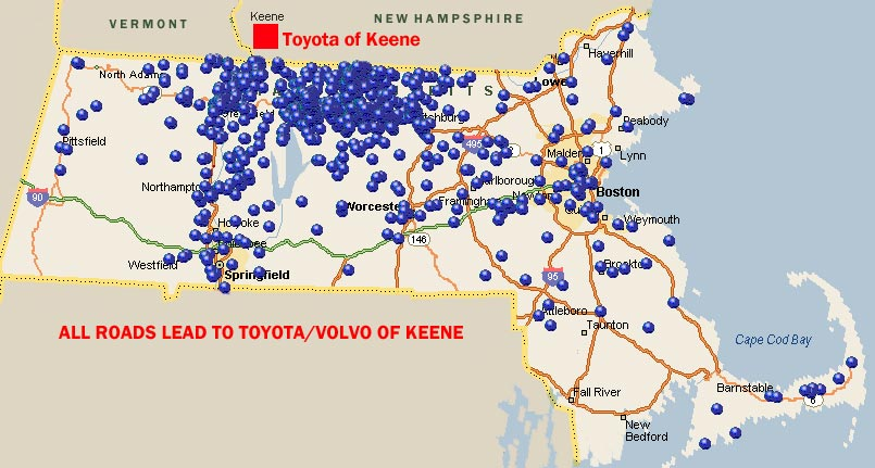 Toyota of Keene, NH - Serving M Customers on ludlow vermont map, new england area map, keene california map, keene city map, fitzwilliam nh map, bellows falls vermont map, keene vermont map, bennington vermont map, keene new york map, rutland vermont map, keene tx, plymouth england map, portland maine map, bangor maine map, jaffrey nh map, rindge nh map, beirut on world map, biddeford maine map, keene nh,